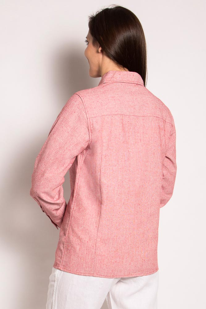 Ladies Hemp Cotton Shirt