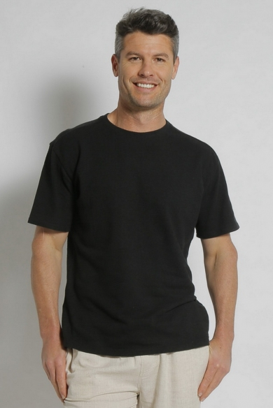 Hemp Classic Short Sleeve Tee-Black