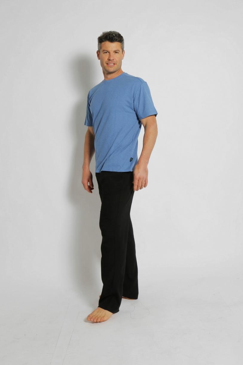 Hemp Classic Short Sleeve Tee-Blue