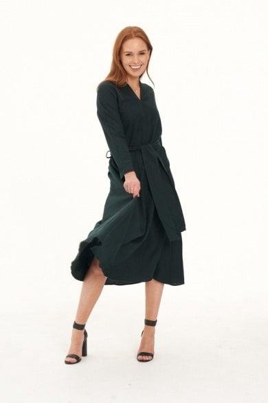 Ladies' Hemp Cotton Dress-Bottle