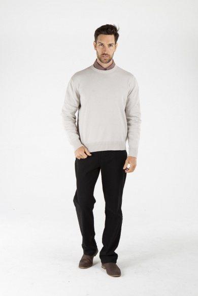 Men's Hemp Cotton Jumper-Grey