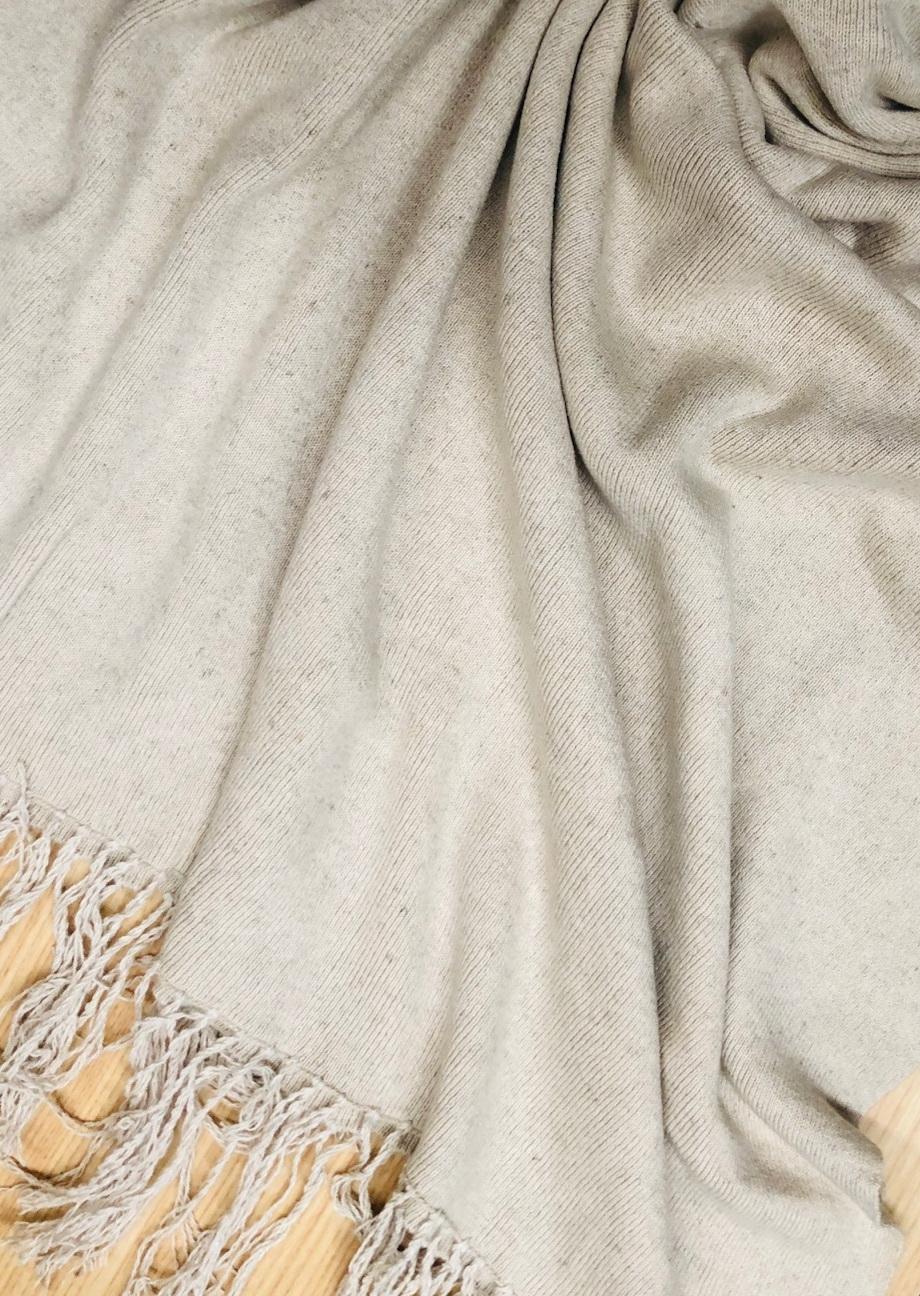 P01 Hemp Cotton Pashmina-Bone