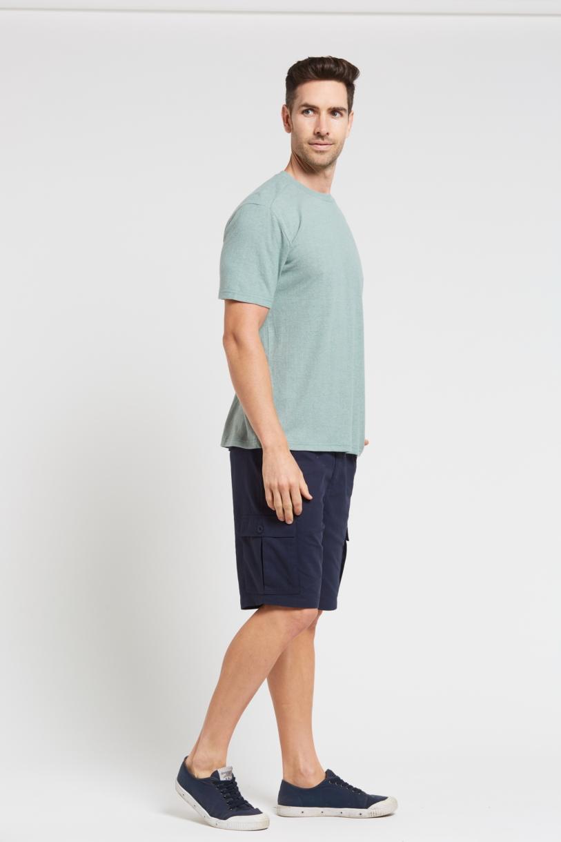 Hemp Classic Short Sleeve Tee-Green